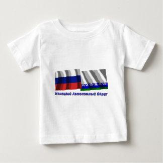 Russia and Nenets Autonomous Okrug Infant T-shirt