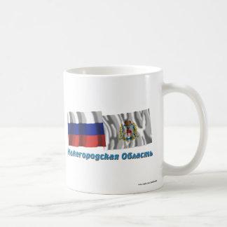 Russia and Nizhniy Novgorod Oblast Classic White Coffee Mug