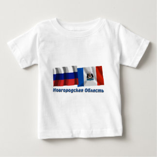 Russia and Novgorod Oblast Tee Shirt
