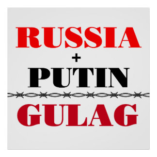 Russia and Putin Poster