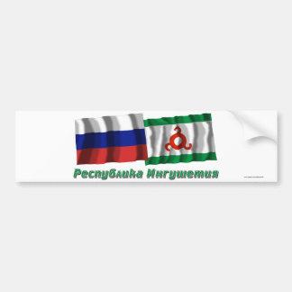 Russia and Republic of Ingushetia Bumper Sticker