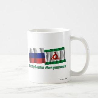 Russia and Republic of Ingushetia Classic White Coffee Mug