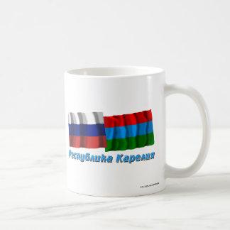 Russia and Republic of Karelia Classic White Coffee Mug