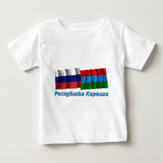 Russia and Republic of Karelia T Shirt