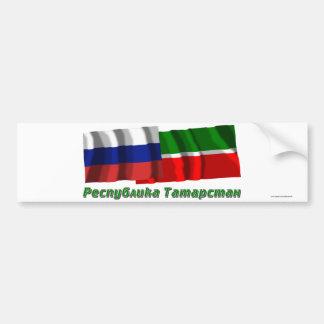 Russia and Republic of Tatarstan Bumper Stickers