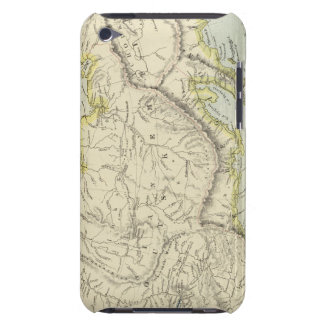 Russia and Siberia iPod Touch Case
