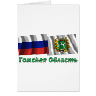 Russia and Tomsk Oblast Card