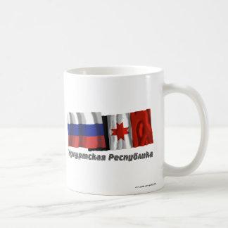 Russia and Udmurt Republic Coffee Mug