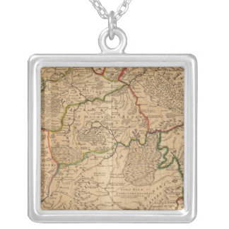 Russia and Ukraine Silver Plated Necklace