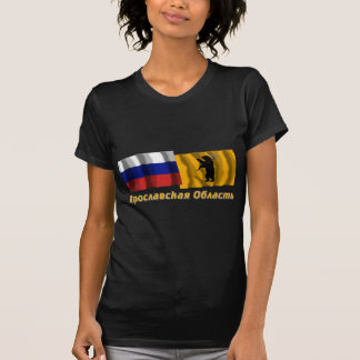 Russia and Yaroslavl Oblast T-Shirt