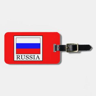 Russia Bag Tag