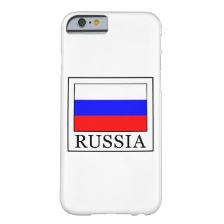 Russia Barely There iPhone 6 Case
