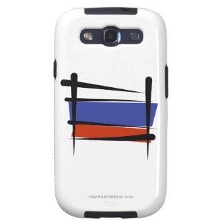Russia Brush Flag Galaxy S3 Case