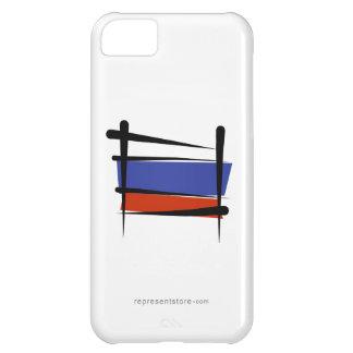 Russia Brush Flag iPhone 5C Cover