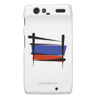 Russia Brush Flag Motorola Droid RAZR Cover