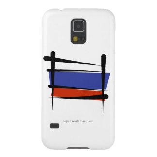 Russia Brush Flag Galaxy S5 Cases