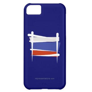 Russia Brush Flag iPhone 5C Covers