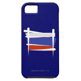 Russia Brush Flag iPhone 5 Case