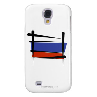Russia Brush Flag Galaxy S4 Cover