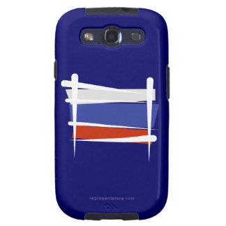 Russia Brush Flag Galaxy SIII Covers