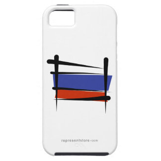 Russia Brush Flag iPhone 5 Cover