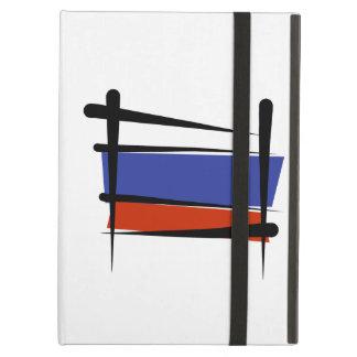 Russia Brush Flag iPad Covers