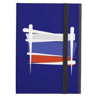Russia Brush Flag iPad Cases