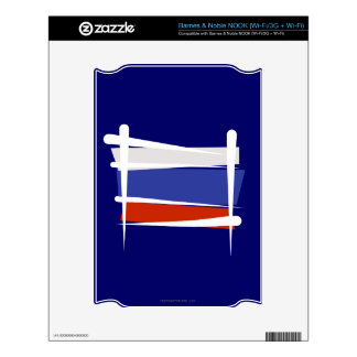Russia Brush Flag NOOK Skin