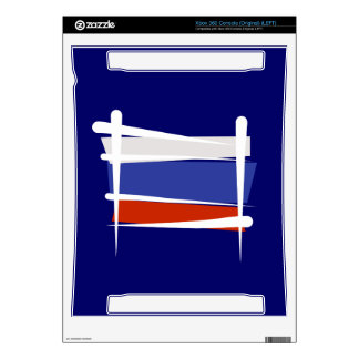 Russia Brush Flag Skins For The Xbox 360
