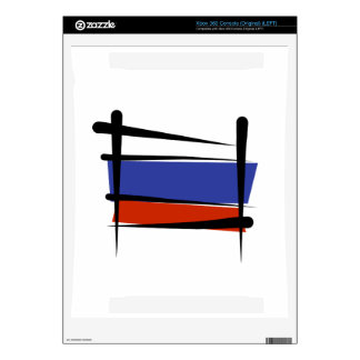Russia Brush Flag Xbox 360 Decals