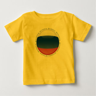 Russia Bubble Flag Baby T-Shirt