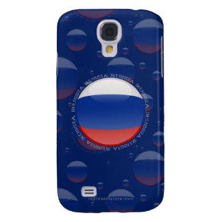 Russia Bubble Flag Galaxy S4 Cover