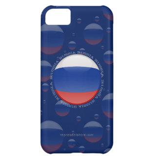 Russia Bubble Flag iPhone 5C Case