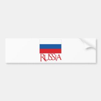 Russia Car Bumper Sticker