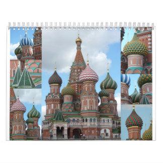 Russia Calendar
