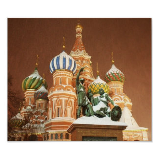 Russia Cathedral Print