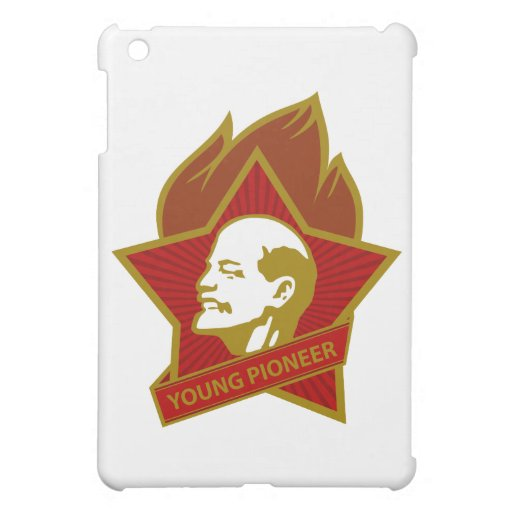 Russia CCCP USSR Young Pioneer iPad Mini Covers
