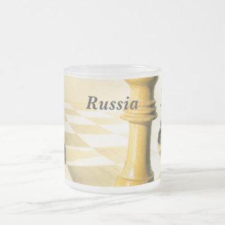 Russia Chess Mugs