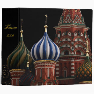 Russia Church Onion Domes Binder Scrapbook Photo