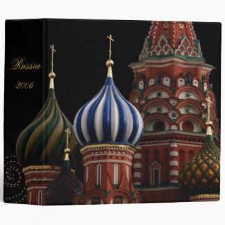 Russia Church Onion Domes Binder Scrapbook Photo