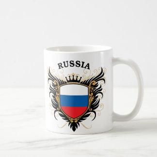 Russia Classic White Coffee Mug