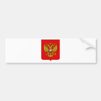 Russia Coat of Arms Bumper Stickers