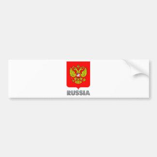 Russia Coat of Arms Bumper Sticker
