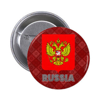Russia Coat of Arms Button