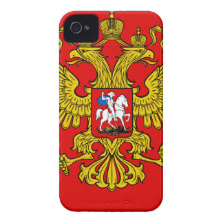 Russia Coat of Arms Case-Mate iPhone 4 Cases