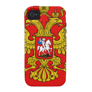 Russia Coat of Arms iPhone 4/4S Case