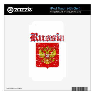 Russia coat of arms designs skin for iPod touch 4G