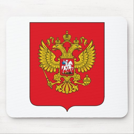 Russia Coat of Arms Mousepad
