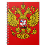 Russia Coat of Arms Note Books