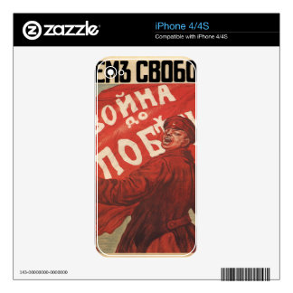 Russia Decals For iPhone 4S